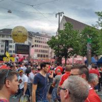 Stimmung auf Barfi Europacup Final